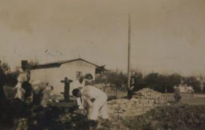 2 1933 construccion de la cancha de basquet