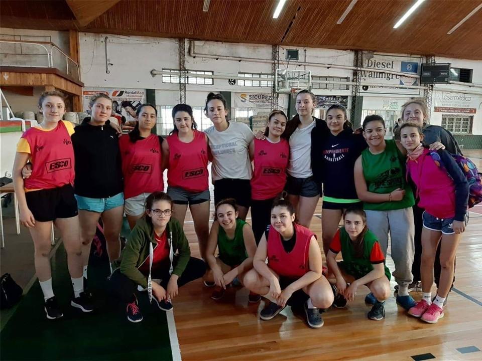 Última concentración Avril Torres previa al Argentino Femenino U13