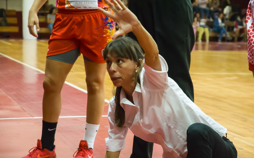 Laura González será coordinadora del básquet femenino