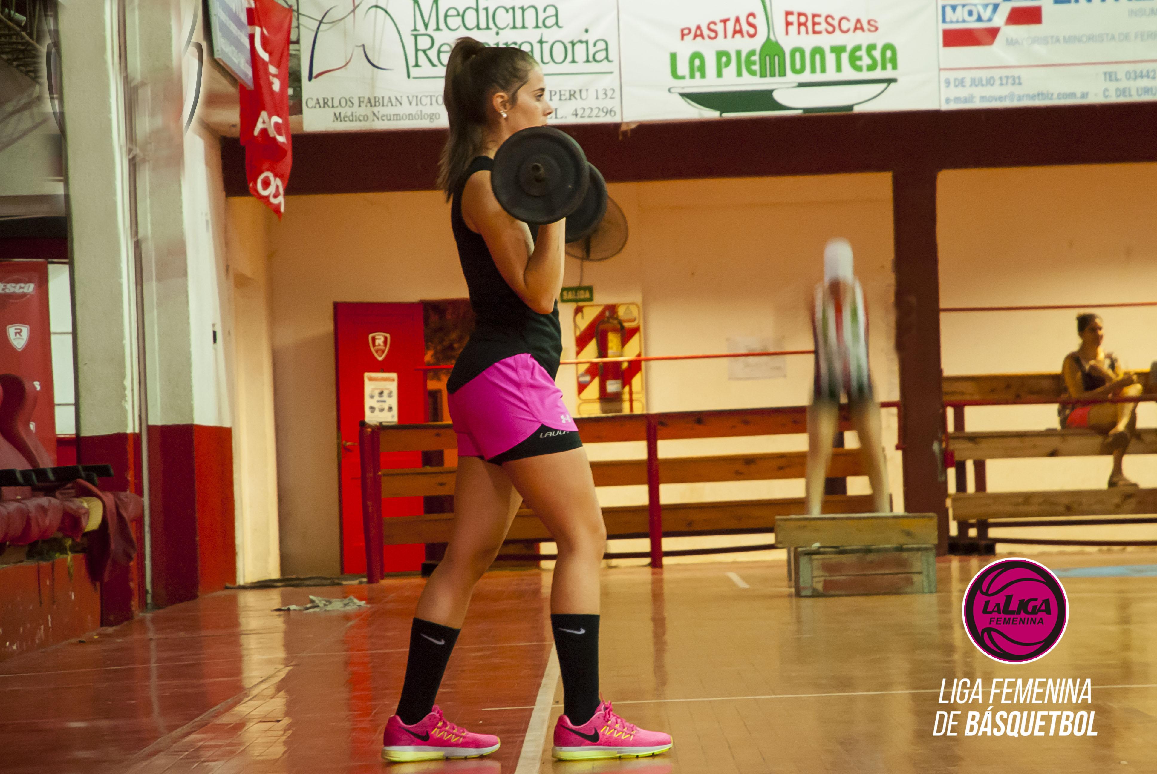 Annelise Bisogni será la preparadora física
